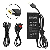 ANTIEE AC Adapter 20V 3.25A 65W Laptop Computer Charger Notebook PC Power Supply for Lenovo Thinkpad Notebook Flex 2 Flex 3 Ideapad Yoga 11 11S ADLX45NCC3A ADLX45NDC3A ADLX45NLC3A G50 Power Cord