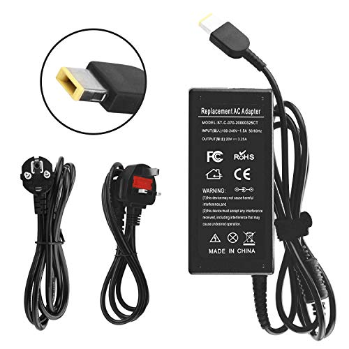 65w Notebook Ac Adapter (ANTIEE AC Adapter 20V 3.25A 65W Laptop Computer Charger Notebook PC Power Supply for Lenovo Thinkpad Notebook Flex 2 Flex 3 Ideapad Yoga 11 11S ADLX45NCC3A ADLX45NDC3A ADLX45NLC3A G50 Power Cord)