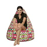 Attractive floral pattern HD printed Canvas bean bag covers xxxl Comfortable Seating for Office and Home by Aart Store Amazon Rs. 1399.00