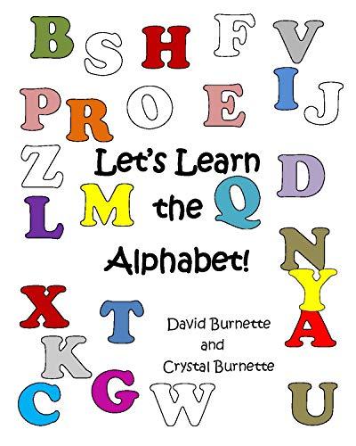 Crystal Alphabet (Let's Learn the Alphabet! (English Edition))