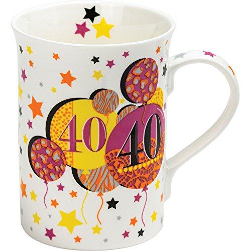 Tea Party 340,2 gram 10.5 x 8 cm en porcelaine fine 101,6 cm Mug