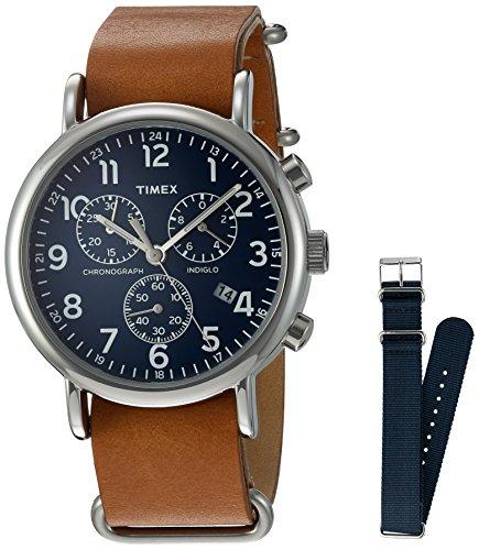 Timex TWG012800QM Montre Bracelet Mixte Adulte Marron
