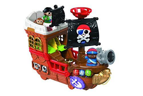 Vtech Toot-Toot Friends Kingdom Pirate Ship-Mu;ticolor