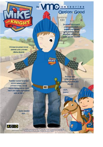 Mike the Knight Kleid bis Outfit