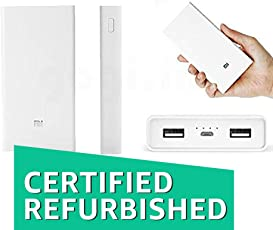 (CERTIFIED REFURBISHED) Mi_Xioami Powerbank 20000 Mah