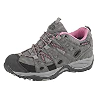 Johnscliffe CASCADE Trekking Shoe Jontex Waterproof Trainers - Dark Grey/Fuchsia Synth.Nubuck/Nylon, Ladies UK 8 / EU 41