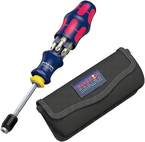 Wera Red Bull Racing Kraftform Kompakt 20, mit Tasche, 7-teilig, 7 Stück, 05227702001