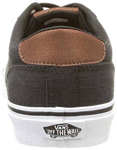 Vans - VZUWI5W - M Winston (Washed Twill) Noir (Textile/Black/Brindle)