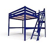Promo Alfred & Compagnie – Cama alta 140 x 200 barreras ...
