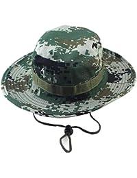 HX fashion Outdoor Sports Camouflage Bucket Hat Woodland Viaggi Pesca  Cappello Taglie Comode Pescatore Cappello Cappello 0d9f8fa70bba
