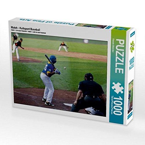 Match - Kultsport Baseball 1000 Teile Puzzle quer (CALVENDO Sport) Preisvergleich