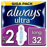 Always Ultra Long Binden (mit Flügeln) Größe2, 1er Pack (1 x 32 Stück)