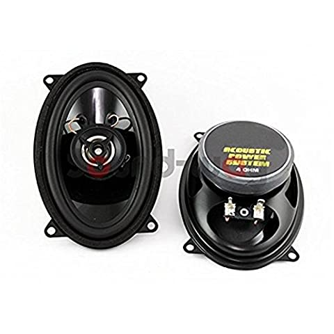 Coaxial Car speakers 9x10 cm - 6x4