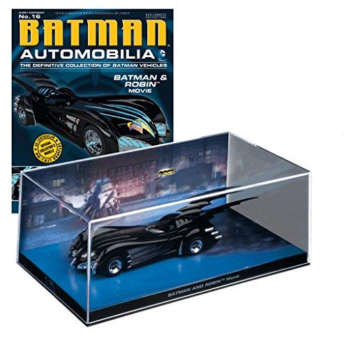 Batman Automobilia Collection Batman-Fahrzeuge Nº 16 Batman & Robin The - Batman Und Robin Ringe