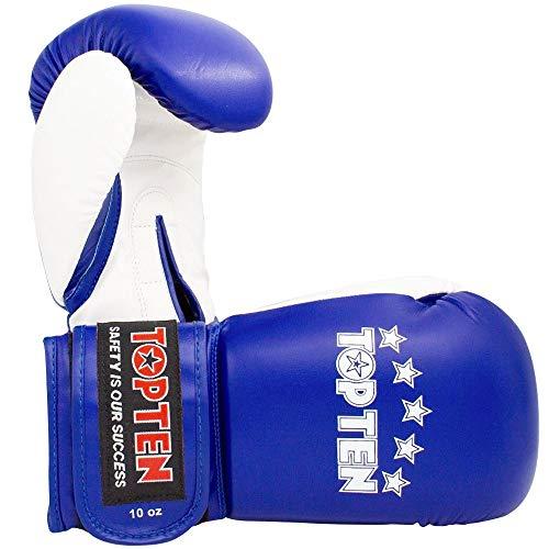 TOP Ten Boxhandschuhe, NK-II, blau Größe 12 Oz