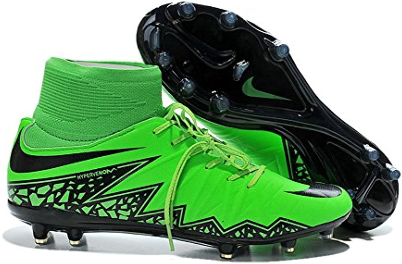 yurmery Schuhe Herren Hypervenom phelon 2 FG Fußball Stiefel
