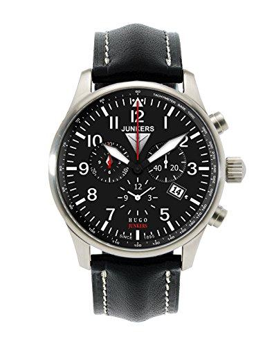 junkers-herren-armbanduhr-xl-hugo-chronograph-quarz-leder-66842