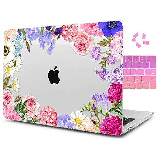 Dongke Schutzhülle für MacBook Pro 15 Zoll (38,1 cm) 2012-2015, Hartschale, mit Tastatur-Abdeckung für MacBook Pro 15 mit Retina Display A1398 Mehrfarbig J209 (Macbook Pro 2012 Tastatur-abdeckung)