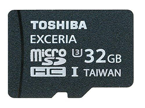 Toshiba scheda di memoria microsdhc, 32gb - exceria - 95mb/s - uhs-i - u3