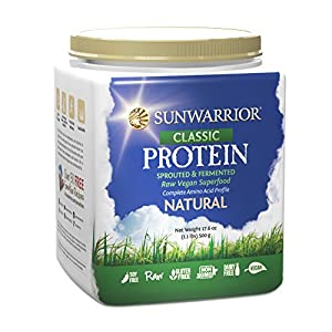 Sunwarrior Natural, 1lb 5oz (Natural, 1Pack (1x 500g)