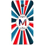YuBingo Soft Silicone Designer Printed Mobile Back Case Cover For Samsung Galaxy C9 Pro | Majestic Letter M (Colourful, Stylish And Cool) | UV Printed | Waterproof | Shockproof | Slim | Light