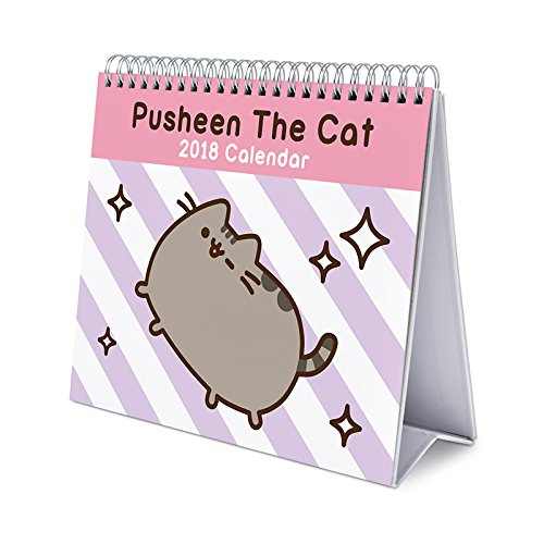 Calendar Desktop Deluxe 2018 Pusheen The Cat