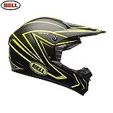 Bell Helme MX 20171Erwachsene Helm, Peitsche matt Viz/gelb, Größe Medium