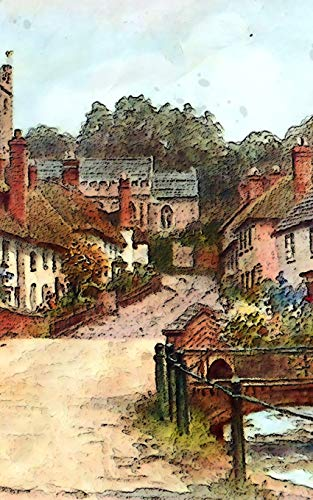 "Notebook: East Budleigh Devon United Kingdom Vintage Classic England 5"" x 8"" 150 Ruled Pages"
