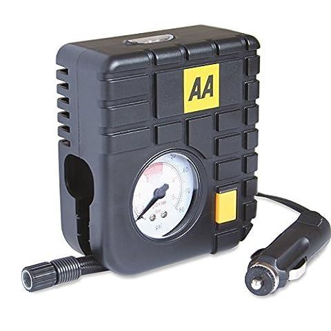 Tyre Inflator Air Tool 12v AA Heavy Duty Mini Emergency