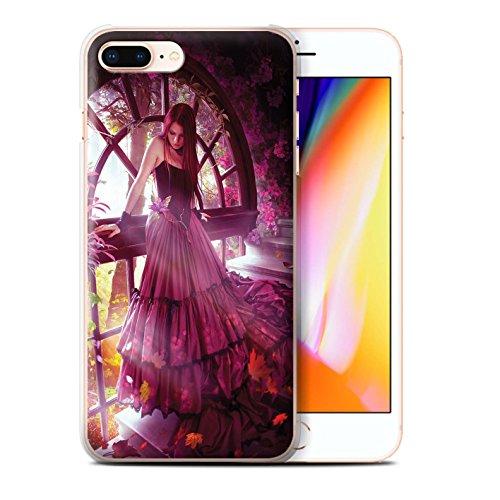 Officiel Elena Dudina Coque / Etui pour Apple iPhone 8 Plus / Reine des Forêts Design / Un avec la Nature Collection Couleurs d'Automne