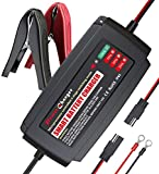 LST 5A 12V Vehicle Battery Charger Maintainer with 4 Stages Charging for Lead-acid/Gel/AGM/VRLA