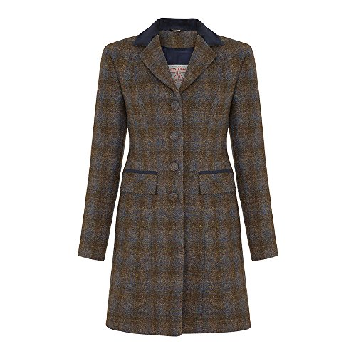 Ladies Harris Tweed Coat - That British Tweed Company