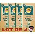 Lipton Infusion Verveine Menthe 40 Capsules Compatibles Nespresso, Anti-stress, Parfum Savoureux de Menthe, Label Rainforest