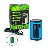 SC/Eleaf iStick Tria Akkuträger 300 Watt + 3 x 2500 mAh Akku Box-Mod-Set Mod Box E-Zigarette E-Shisha (blau)