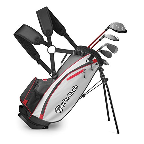 TaylorMade Complete Youth Set W Bag Phenom K40 6Pc/LH R (Unisex, , Graphite Hybrids with Steel Irons)