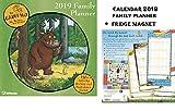 The Gruffalo Family Planner Kalender 2019 + Blank Kühlschrankmagnet