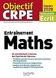 Entraînement Maths - Admissibilité écrit