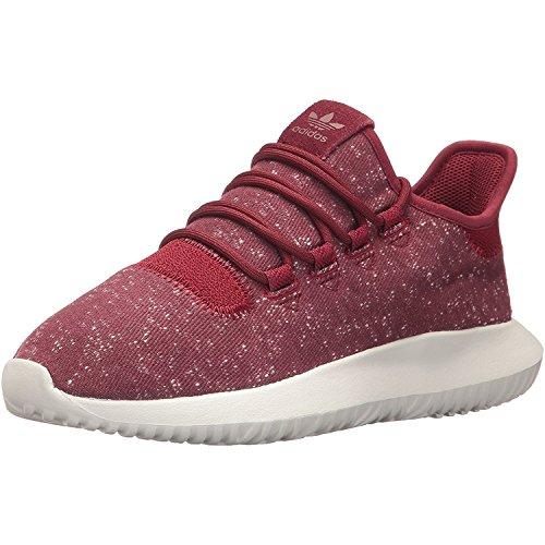 Adidas tubular shadow j, scarpe da fitness unisex – bambini, rosso (buruni/buruni/balcri 000), 35.5 eu