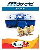 Borotto Real 49 Plus Incubatrice Digitale Automatica in ABS Termoisolante con Biomaster