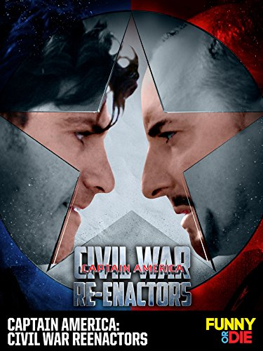Captain America: Civil War Reenactors Cover