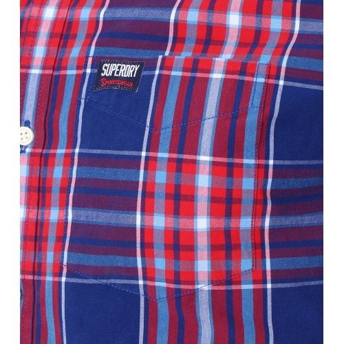 Superdry - chemise Rouge