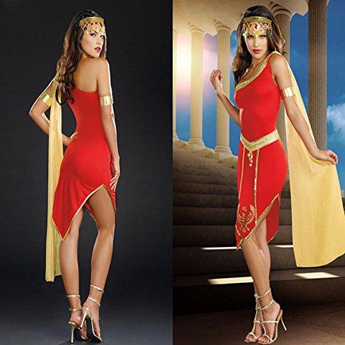 DLucc Halloween-Kostüm -Film -Kostüm Indische Mädchen arabischen persischen -