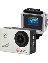 QUMOX WIFI Actioncam SJ4000 Action Sport Kamera Camera Waterproof Full HD 1080p Video Helmkamera Silber
