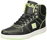 Fila Men's Hopper III Blk and Lim Sneakers - 6 UK/India (40 EU)(11004532)