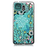 CASEiLike Nokia 2 case, Blooming Flowers Turquoise 2249