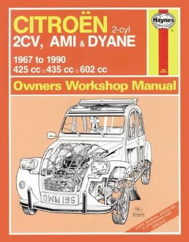 citroen-2cv-ami-dyane-67-90-haynes-repair-manual-haynes-service-and-repair-manuals