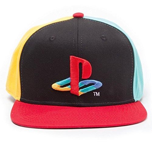 Preisvergleich Produktbild Playstation Cap Original Logo Mütze Snapback Cap Schirmmütze Kappe Sony PS 1 2 3 4