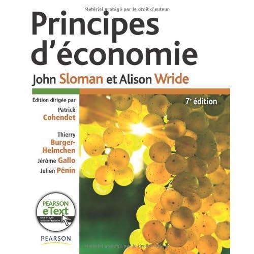 Principes d'économie 7e Ed. + eText