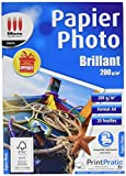 Micro application Papier photo brillant 200g/m² - 20 feuilles A4...