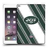 Head Case Designs Offizielle NFL Streifen 2017/18 New York Jets Logo Ruckseite Hülle für iPad Air 2 (2014)